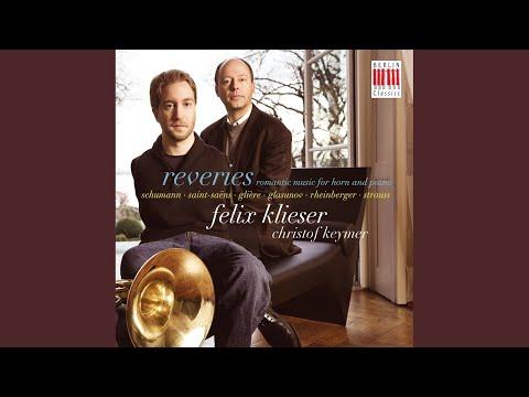 4 Works for Horn and Piano, Op. 35: No. 7, Valse triste. Moderato flebile