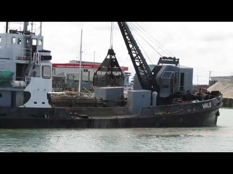 Dredging Domestic Faua basin area by Ports Authority Tonga