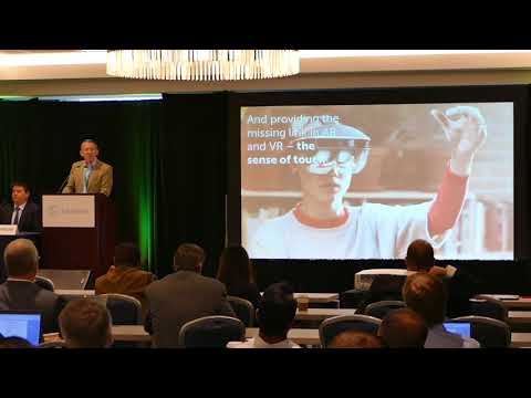 Enhancing the User Experience with Touchless Haptics talk | Global Display Conference 2017