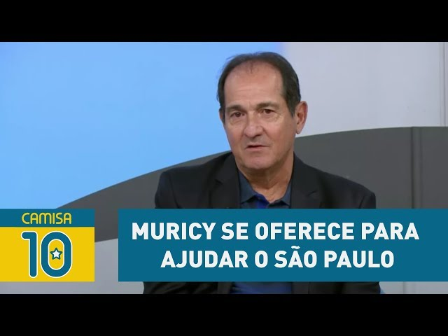 MURICY se oferece para ajudar o São Paulo DE GRAÇA!