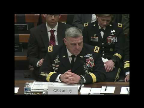 Service Chiefs Testify on Effects of Continuing Resolution, Part 2