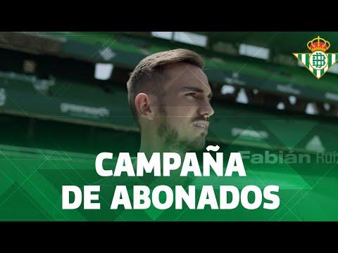 Spot de la campaña de abonos del Real Betis Balompié para la temporada 2018-2019