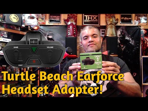 Turtle Beach Earforce Headset Controller Adapter Plus To Fix Your Xbox One Elite Headset Issues!