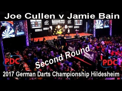 2017 German Darts Championship Hildesheim Joe Cullen v Jamie Bain | Second Round