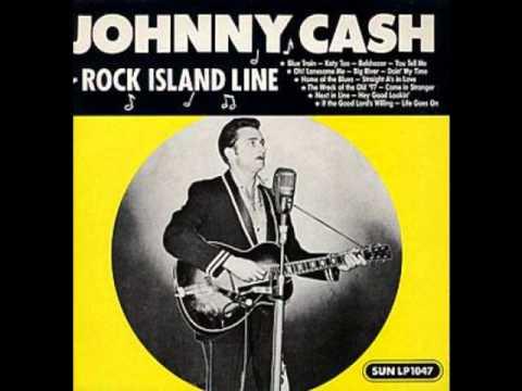 Johnny Cash-Rock Island Line - YouTube