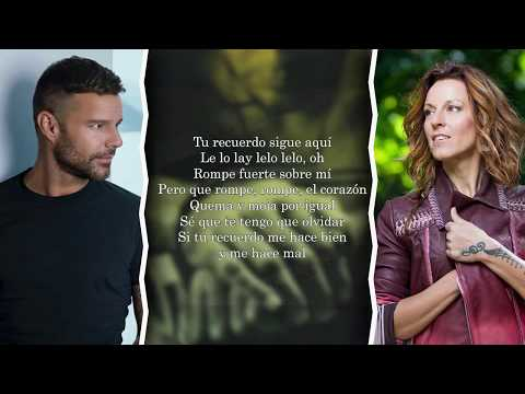 Ricky Martin - Tu Recuerdo (feat. La Mari y Tommy Torres) [Lyrics/Letra]