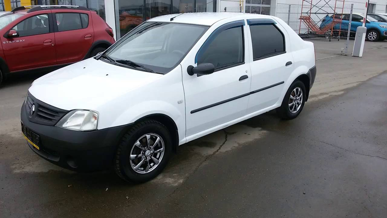 Купить Рено Логан (Renault Logan) 1.6 л. МТ 2011 г. с пробегом бу .