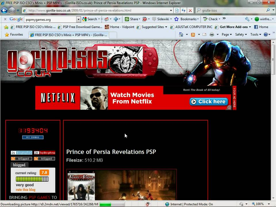 The Best Psp Free Game Download Sites A Nd How To Put Free