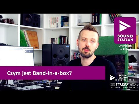 Band in a Box 2018 - PREZENTACJA, TUTORIAL PL