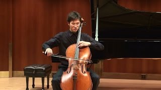 Bihn Park, Roger Sessions Six Pieces for Cello