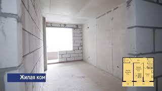 "ЖК ""Абрикосово"" - 2 комн. квартира 61,20 м2"