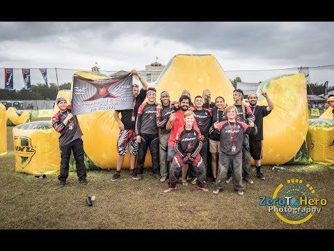 Clean Up Crew vs Revolution - 2016 NXL World Cup Raw Paintball   D5 5-Man Finals Match