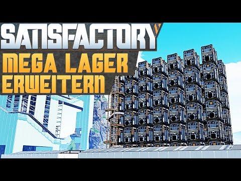 SATISFACTORY MEGA-LAGER 3.0 #1 Satisfactory Deutsch German Gameplay #88