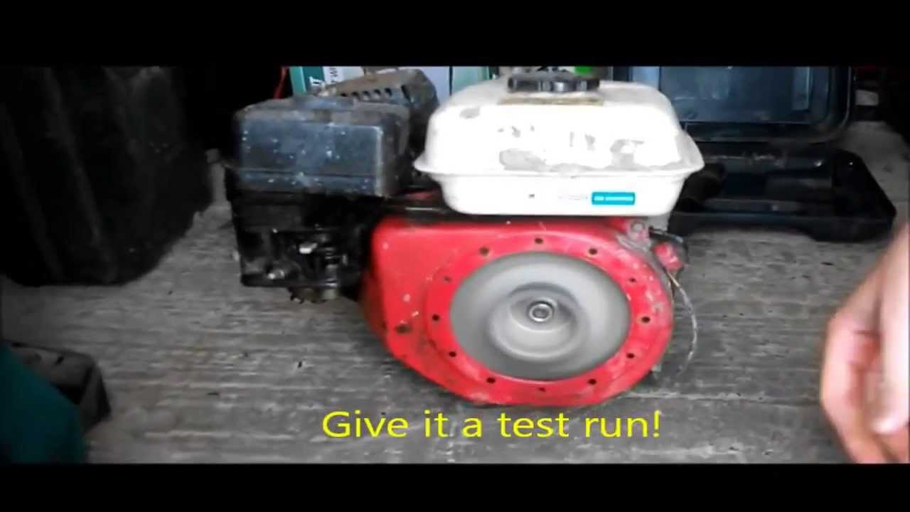 how to clean a pulled engine