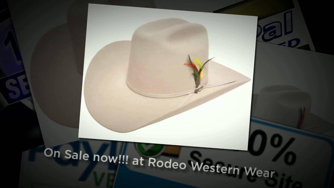 93ee899a18fa8 Stetson Rancher Hat - Rodeo Western Wear - YouTube