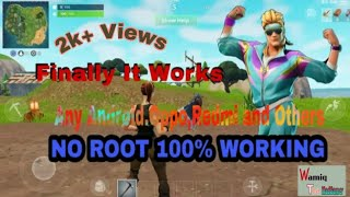 How to Download And Play Fortnite On Any Android.Oppo Or Redmi Or Any Other.No Root 100% Working