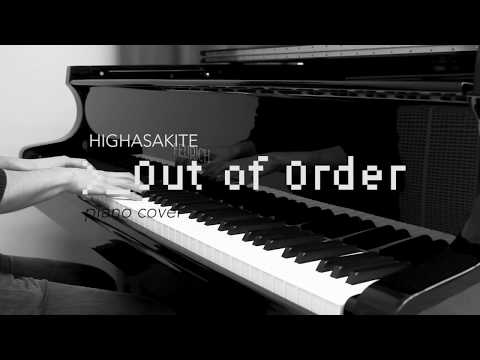 Out of Order (Highasakite) – piano cover