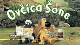 Ovčica Šone - uvodna špica / Shaun the Sheep - theme song (Serbian / Srpski)