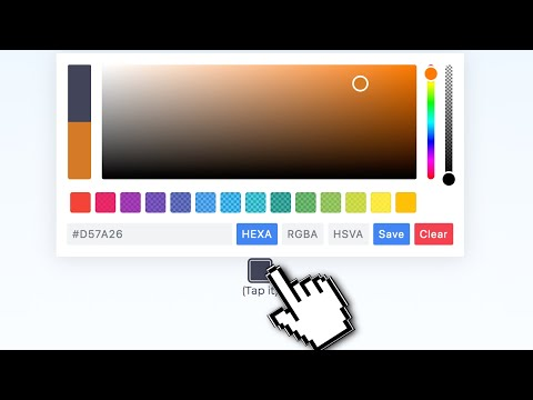 How To Add A Color Picker To Your Website Using Pickr Javascript Library
