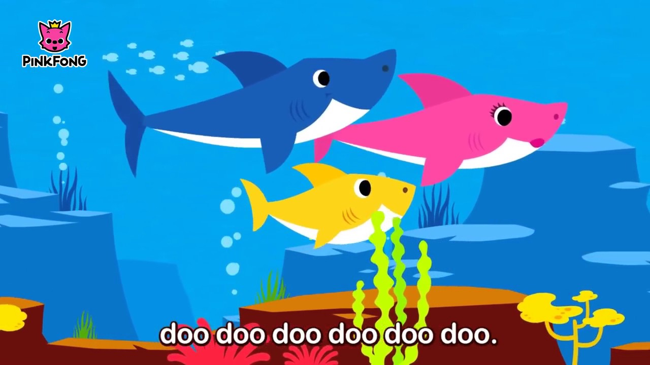 baby shark ile ilgili görsel sonucu