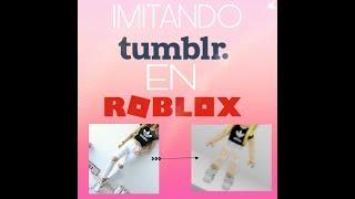 Imitating tumblr photos on ROBLOX! :3