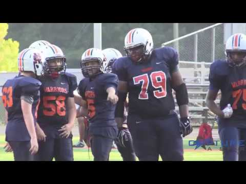 Youth Football Highlights - North Cobb Warriors 2017 Scrimmage