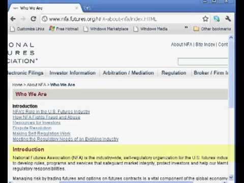 How To Check Broker Registrationn In NFA