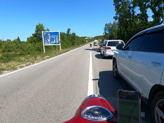 Jawa teekond Horvaatias Krk saarel.