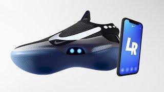 Nike Adapt bb - SCARPE AUTOALLACCIANTI, ricarica wireless, LED e applicazione dedicata