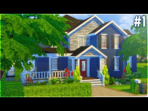 The Sims 4 Speed Build - Riverside Suburban (Part 1)