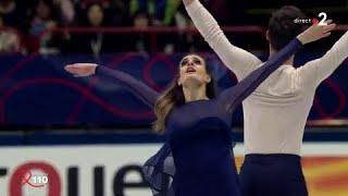 Mondiaux de patinage : Papadakis-Cizeron, leur 3e sacre en vidéo