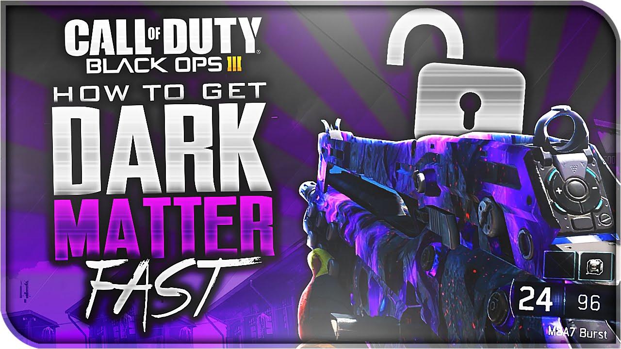 how to make dark matter