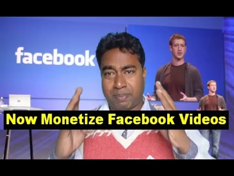 Facebook Announced Revenue Share  on Facebook Videos with  Publishers !! Ratio - 55 : 45