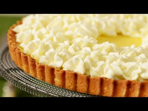 Lemon Tart Recipe Demonstration - Joyofbaking.com