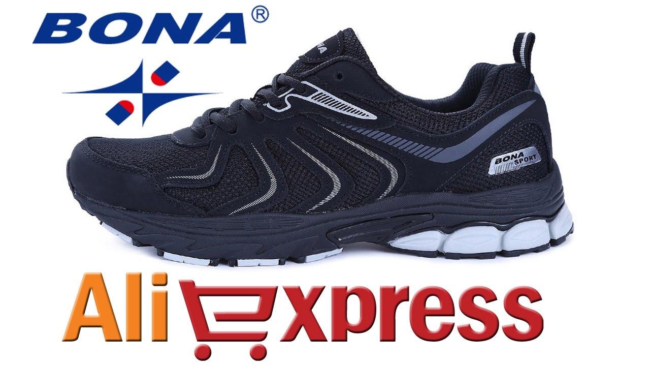 22c9a866 КРОССОВКИ BONA SPORT ОБЗОР из Китая с AliExpress - YouTube