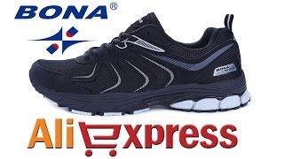 КРОССОВКИ BONA SPORT ОБЗОР из Китая с AliExpress