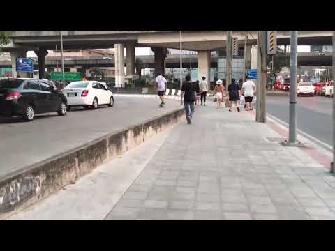 when it's one of them days Bangkok skate session