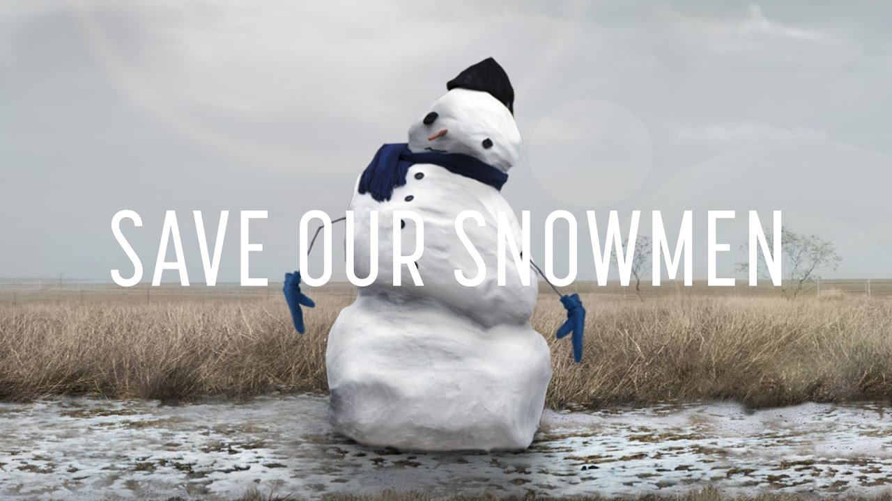 Watch Avalanches Of Snowmen Are Headed North To Escape Climate Change Audubon
