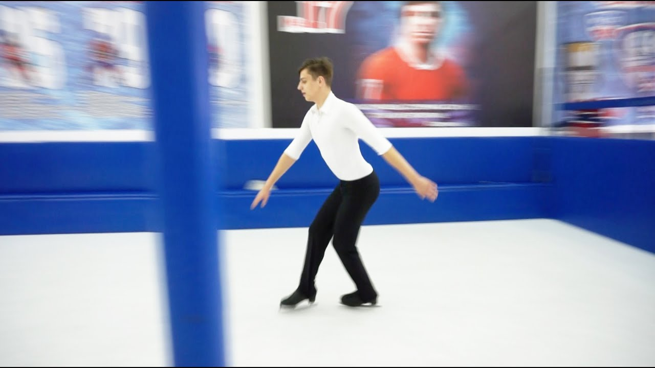 Professional Ice Skating on Synthetic Ice | PLAST-ICE