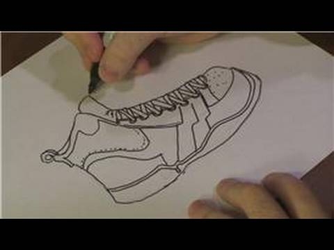 Exceptional Drawing Lessons : How To Draw Basketball Shoes