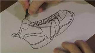 Drawing Lessons : How to Draw Basketball Shoes