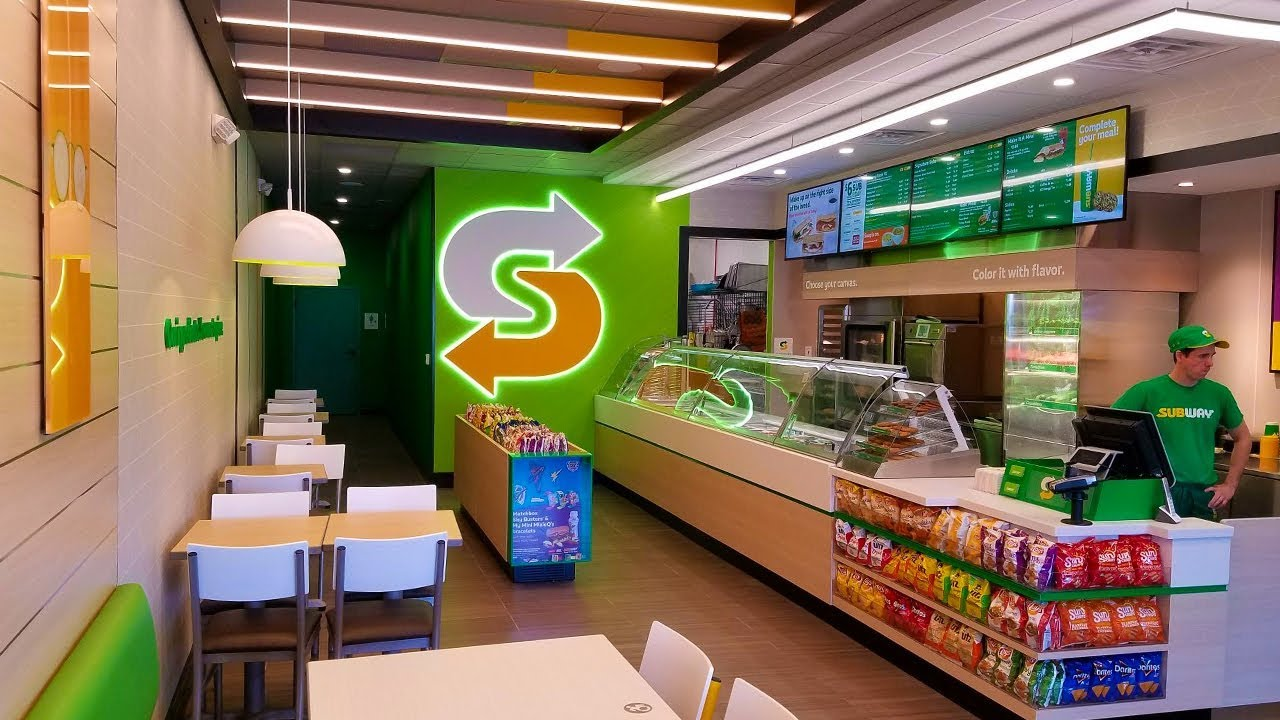 Subway Restaurants Debuts First New Look In Berks County Pennsylvania