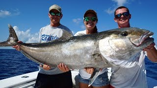 DEFEATED a Record Breaking GIANT! Catch Clean Cook- Amberjack