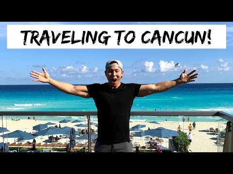 MY ADVENTURES IN CANCUN! | WE GOT A PENTHOUSE | PART 1/3