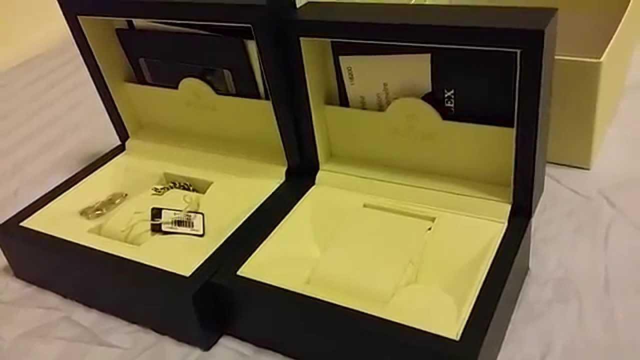Rolex Boxes (2 sizes)