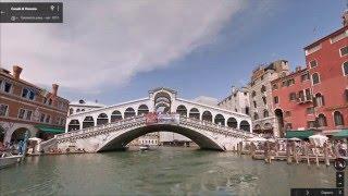 Часть 25. Город  Венеция. Part 25. City Venezia(Картографические данные: Google, DigitalGlobe Map data : Google, DigitalGlobe Видео создано на основе дорожных панорам и Карт Google..., 2016-03-20T13:08:16.000Z)
