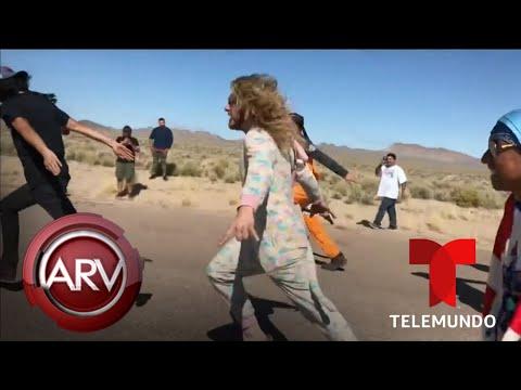 Multitud llega al Área 51 en busca de evidencia sobre extraterrestres | Al Rojo Vivo | Telemundo