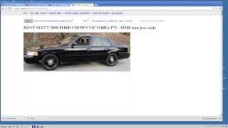 США 163: Покупка автомобиля на Craigslist