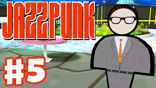 Jazzpunk - Gameplay Walkthrough Part 5 - Final Boss Fight and Ending! (PC Indie Game)
