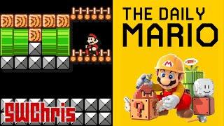 Super Mario Maker - The Daily Mario - Upside Down Twin Castle - Ep. 5